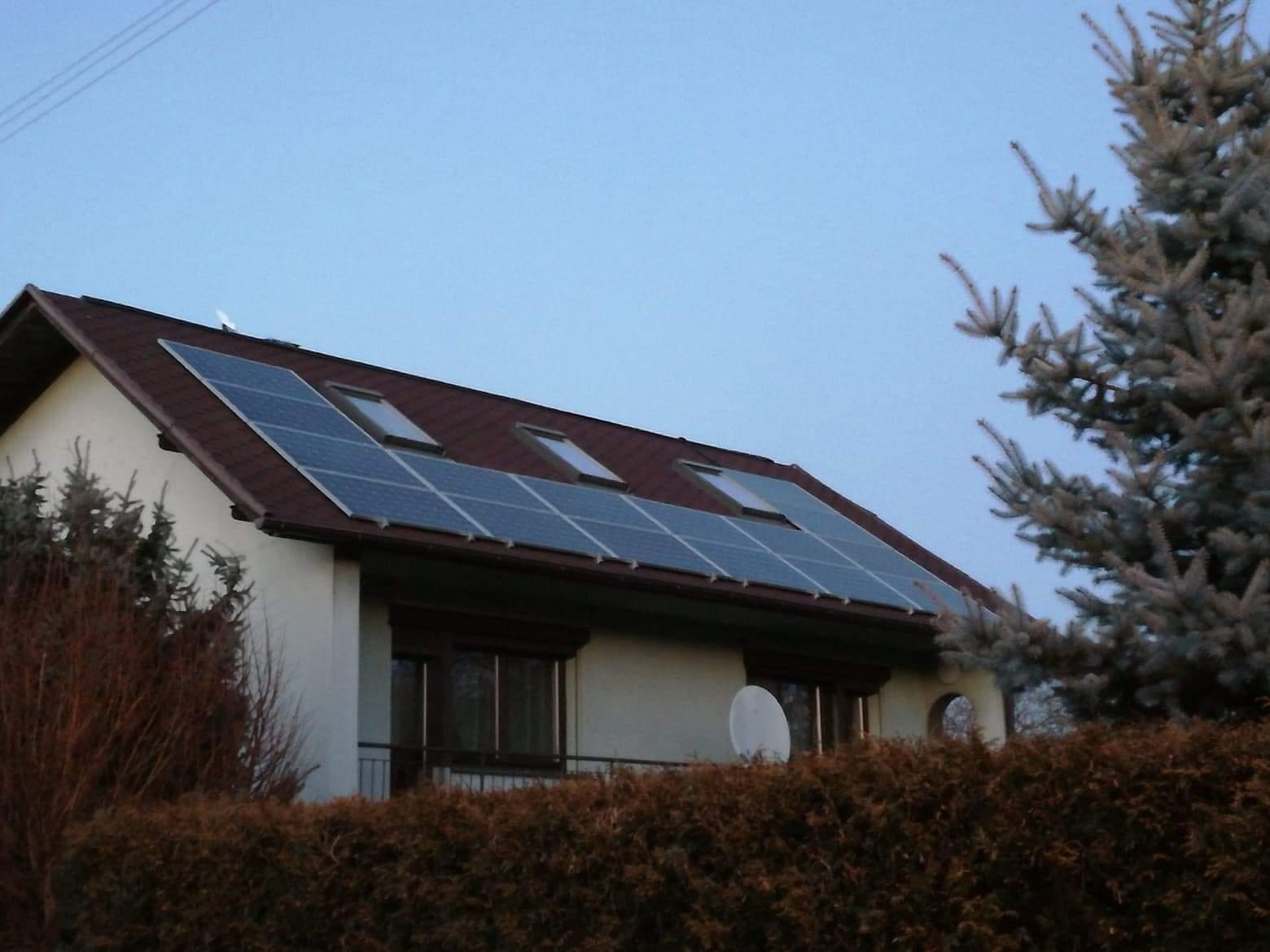 energia ogrzewania słoneczne dachu energia